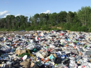 Waste going to landfill increasing