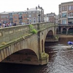 Weeds still growing on Ouse Bridge - still no Council statement