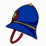 Police helmete