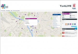 York Live web site click to access