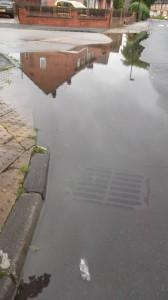 Flooding problems on Windsor Garth
