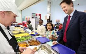 Nick Clegg launching the new scheme last year