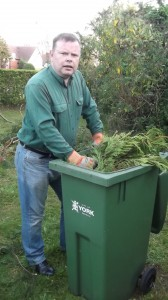 Andrew Waller is opposing more green bin charges