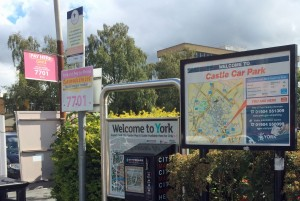 No warning notices in Castle Car Park about Minster Badge change