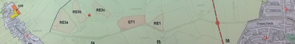 Proposed traveller site on Wetherby Road