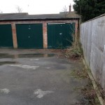 Garage areas neglected