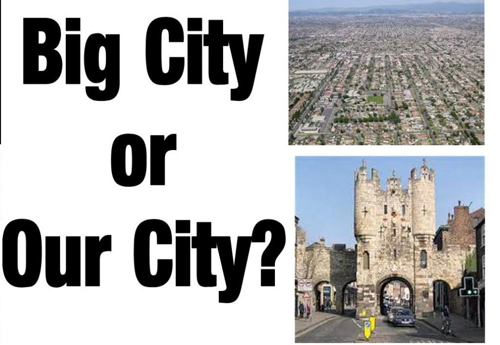 Big City Our City logot