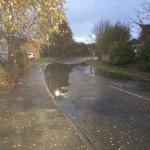 Bellhouse Way flooding