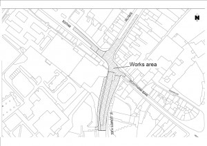 Bootham - Gillygate roadworks from 17th November 2014
