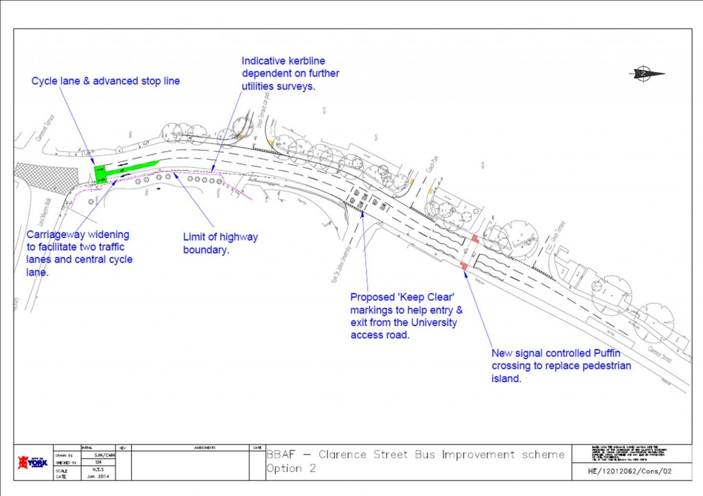 Clarence Street proposals - click to access