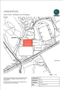 Location of hall