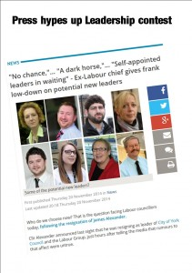 Leadership Labour