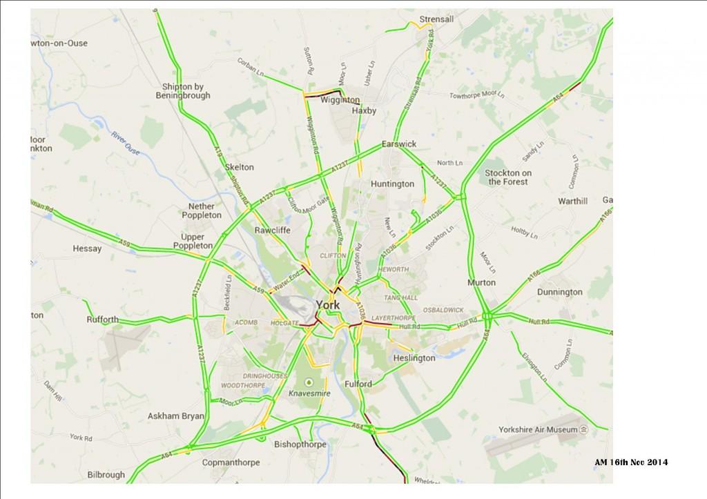 Traffic 16th Nov 2014