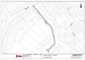 Area of Vesper Drive to be resurfaced