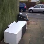 Rubbish dumped on Sunday
