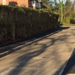 Tudor Road footpaths resurfaced