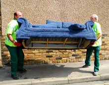 Bulky waste removal charges increase to £40.