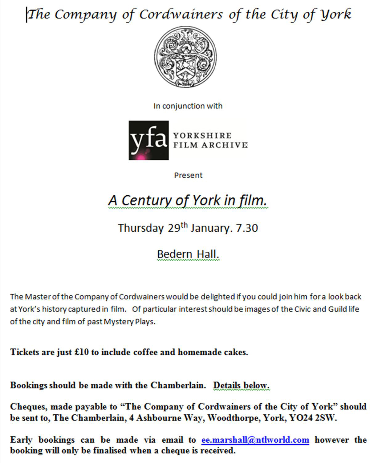 Film in York