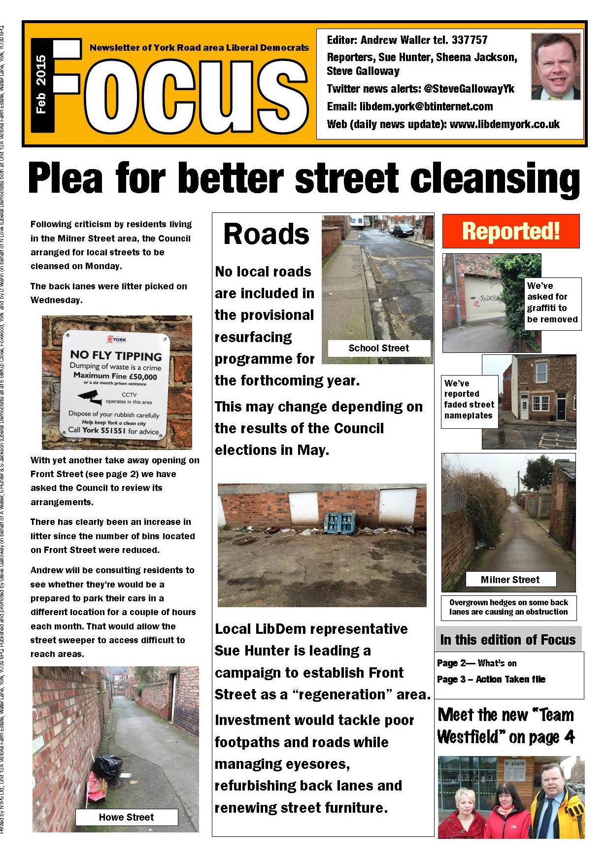 215 colour York Road pages 1 380 Focus Feb 15 A3