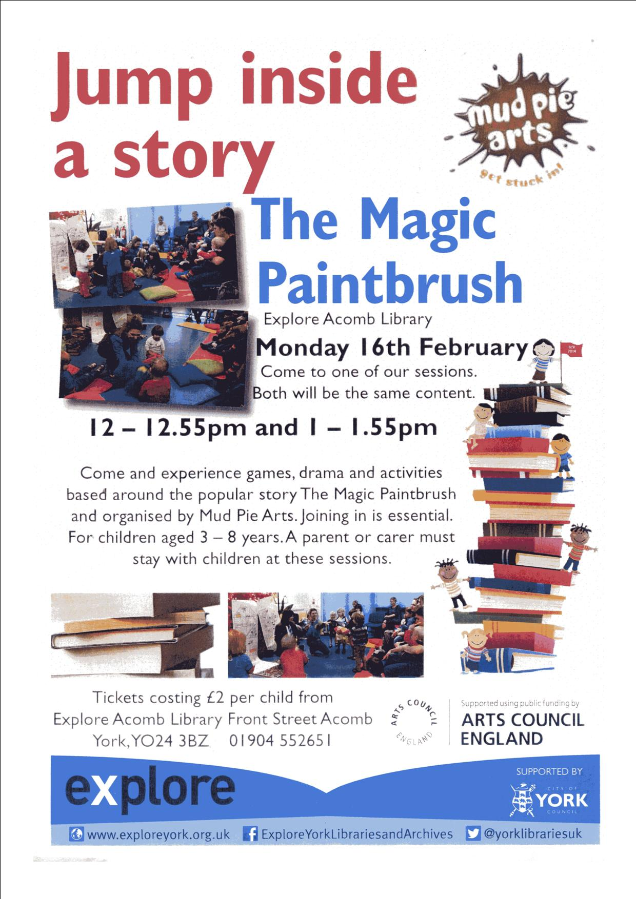 Magic paintbrush 16th Feb 2015