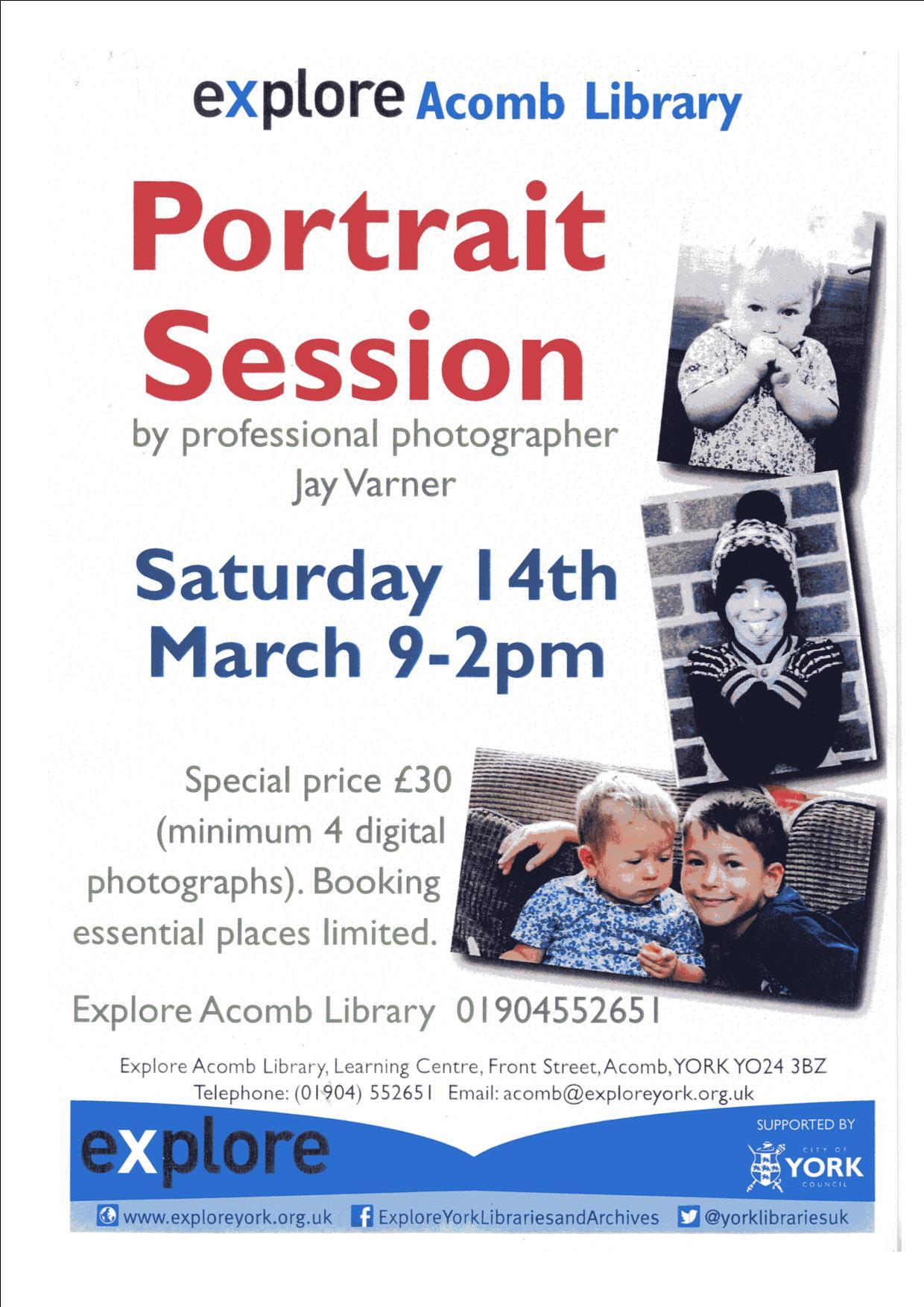 Portrait 14th March
