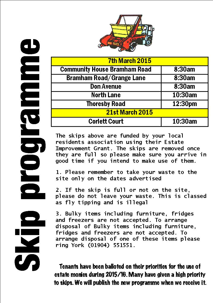 Programme March 2015
