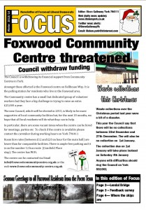 1213  colour page 1 Foxwood Focus Dec 13 A3