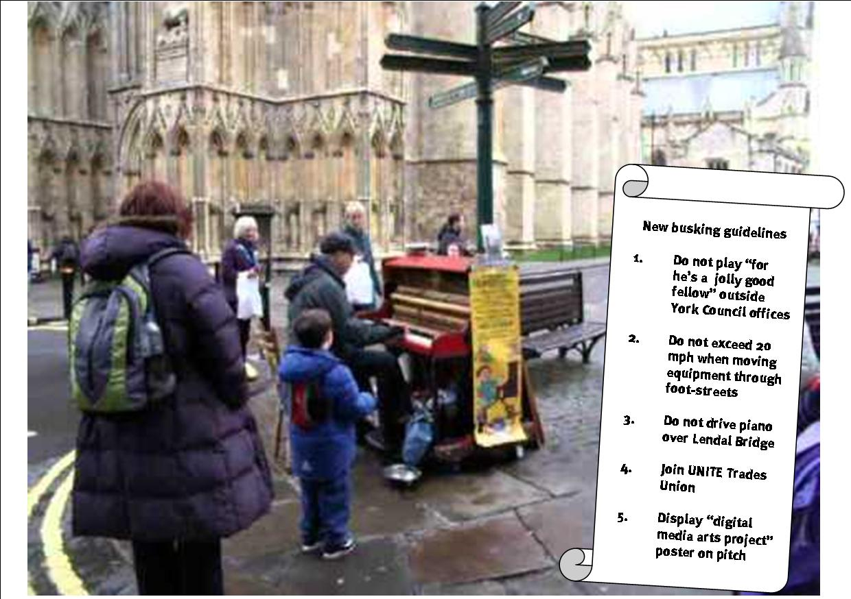 Buskers guidelines