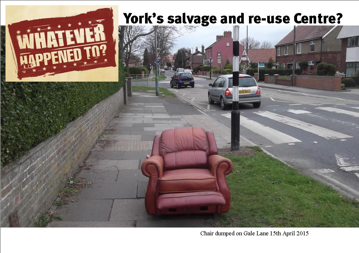 Whatever happened to the salvage and re-use centre