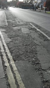 York Road poor surface
