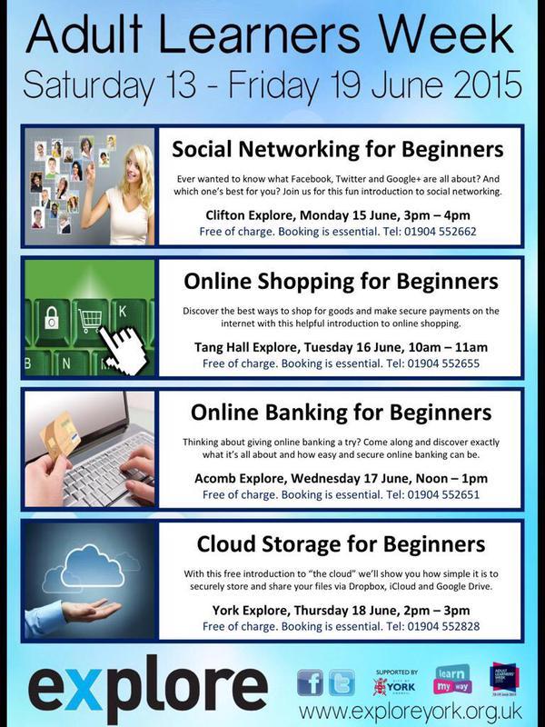 Adult learners week June 2015