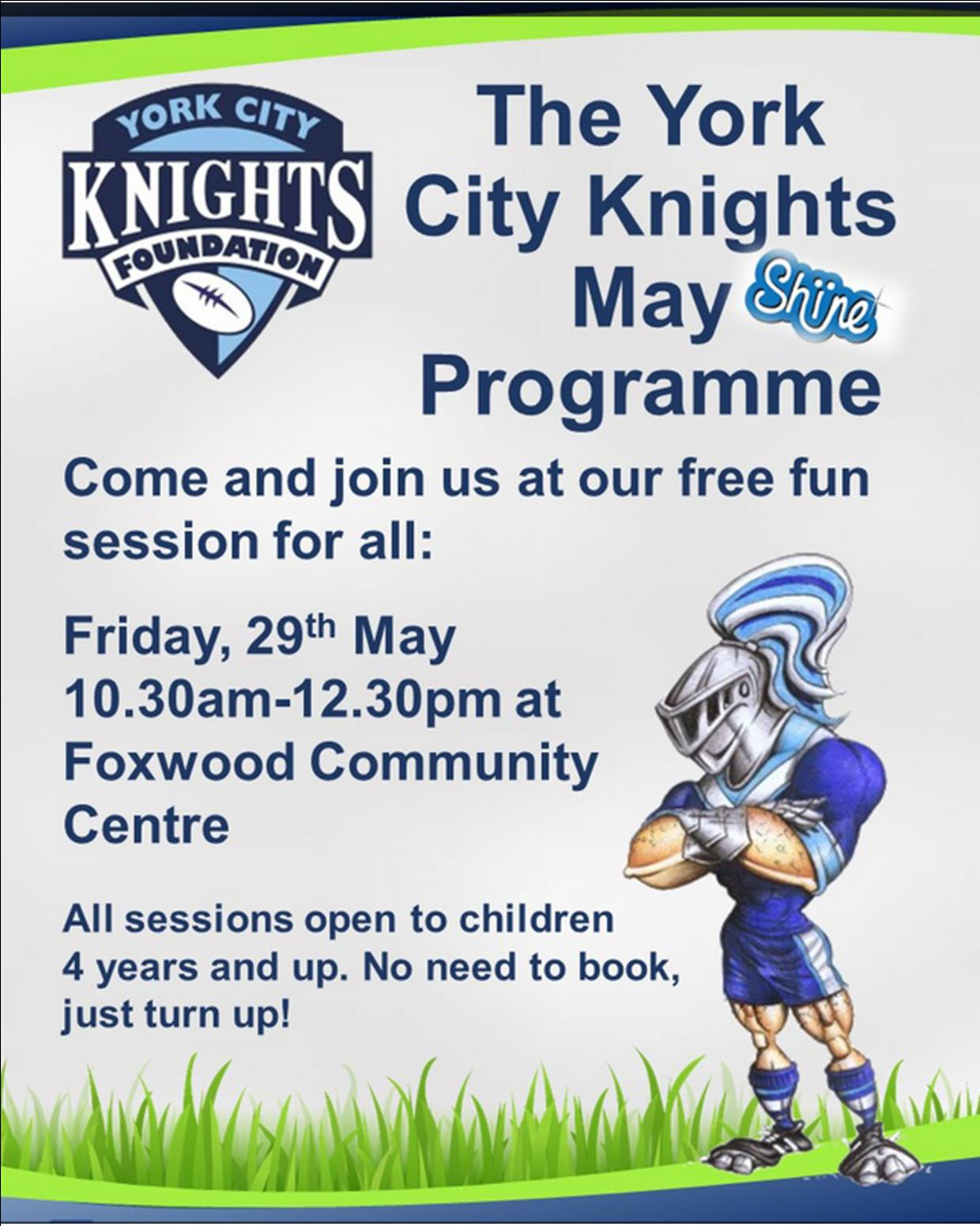 Knights event 29th May 2015