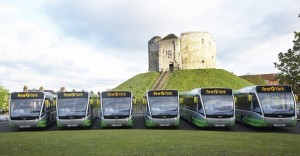 New electric bus fleet
