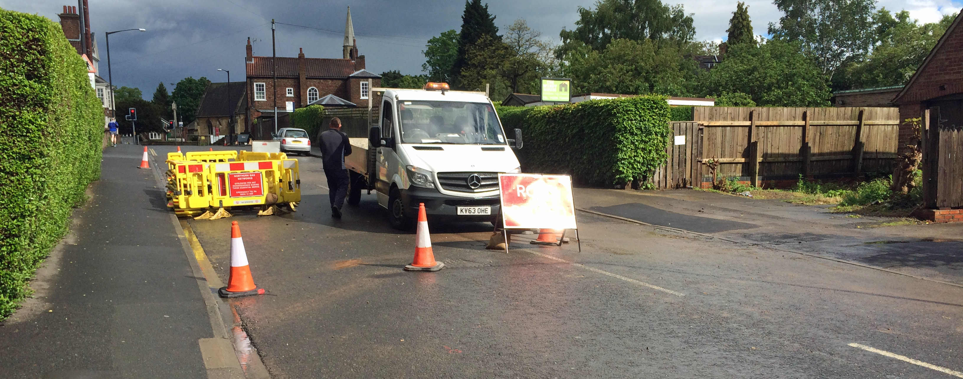 St Helens Road closure