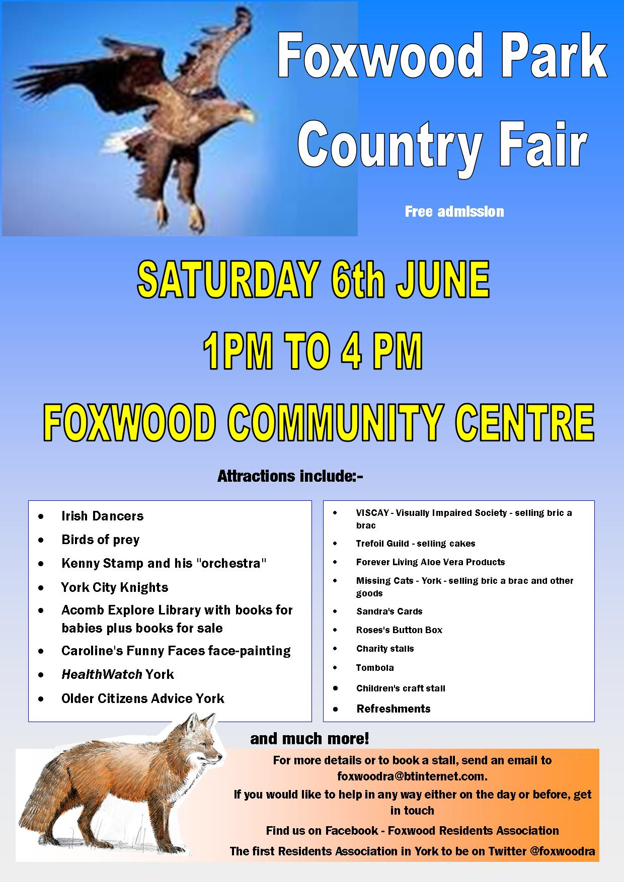 Summer Fair on Saturday