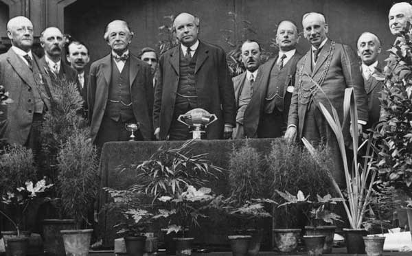 York allotment classes prize giving 1925
