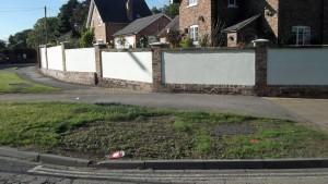 unseeded verge Askham Lane