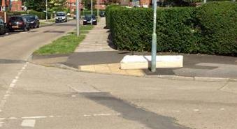 Dumped mattress in Kingsway area