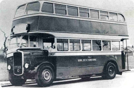 Old west Yorks bus