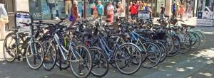 FULL cycle racks in parliament Street
