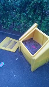 Defective bins