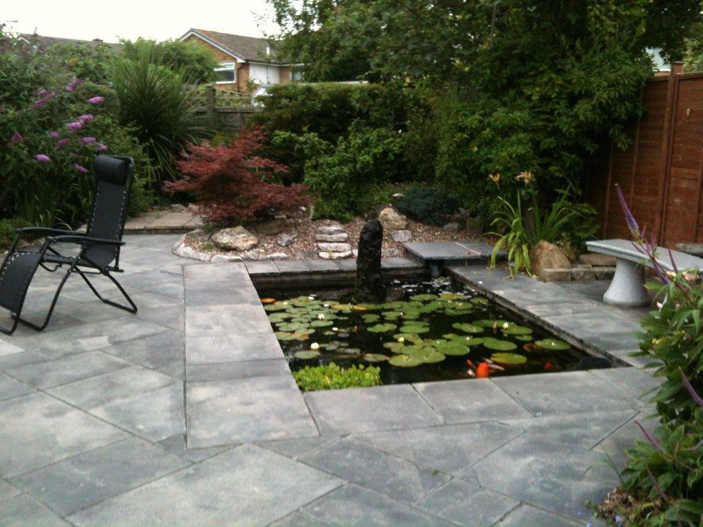Best hard landscaped garden