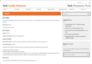 Museum charges