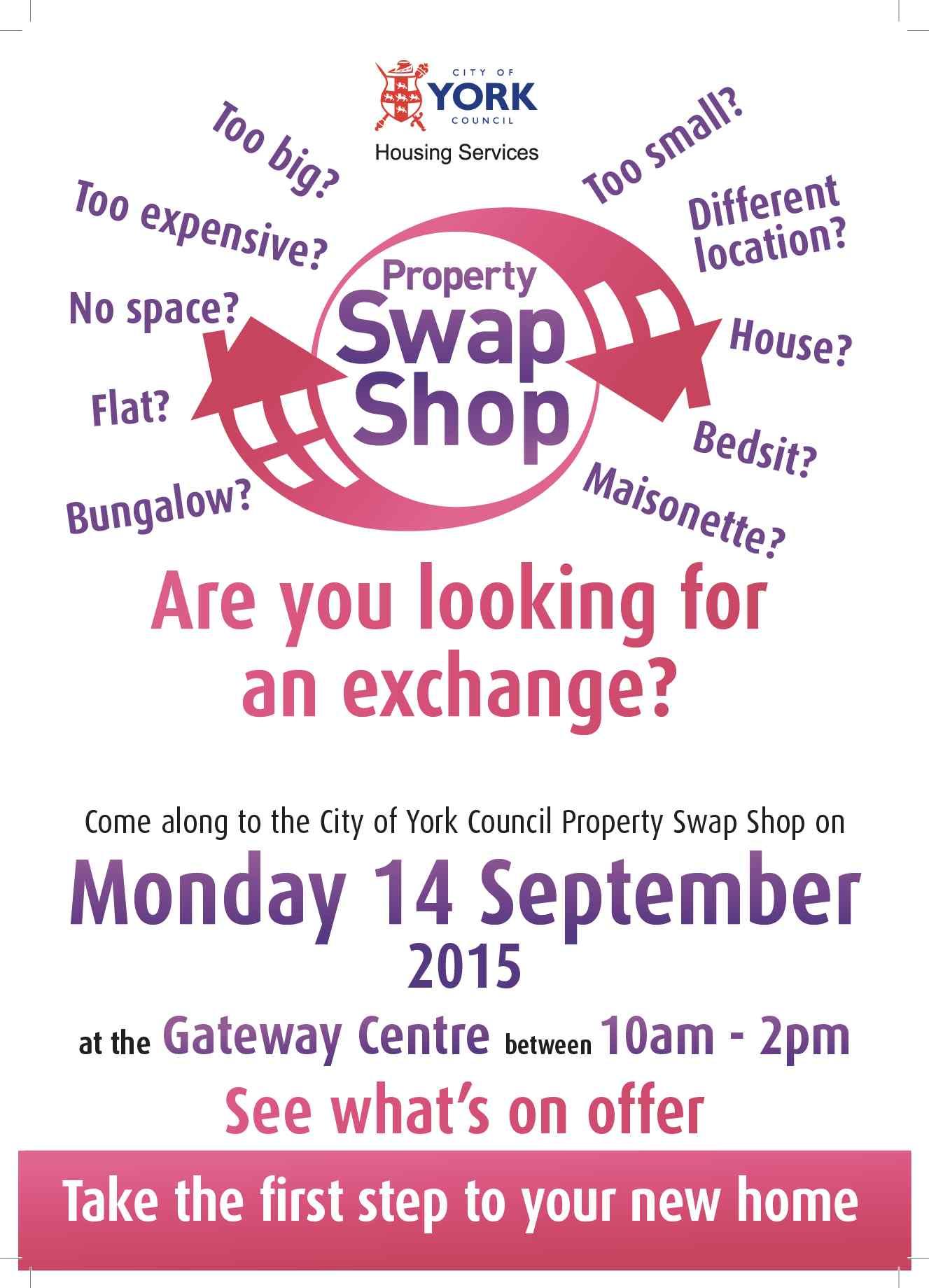 Property swap shop