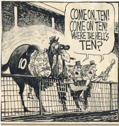 Back wrong horse