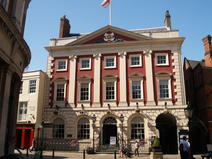Mansion House, Lord Mayors flat is on the top floor