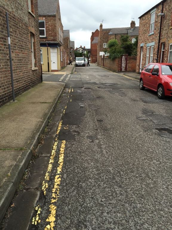 School Street carriageway needs resurfaicng