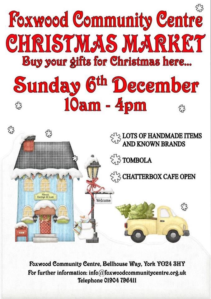 Foxwood Christmas market 6th Dec 2015