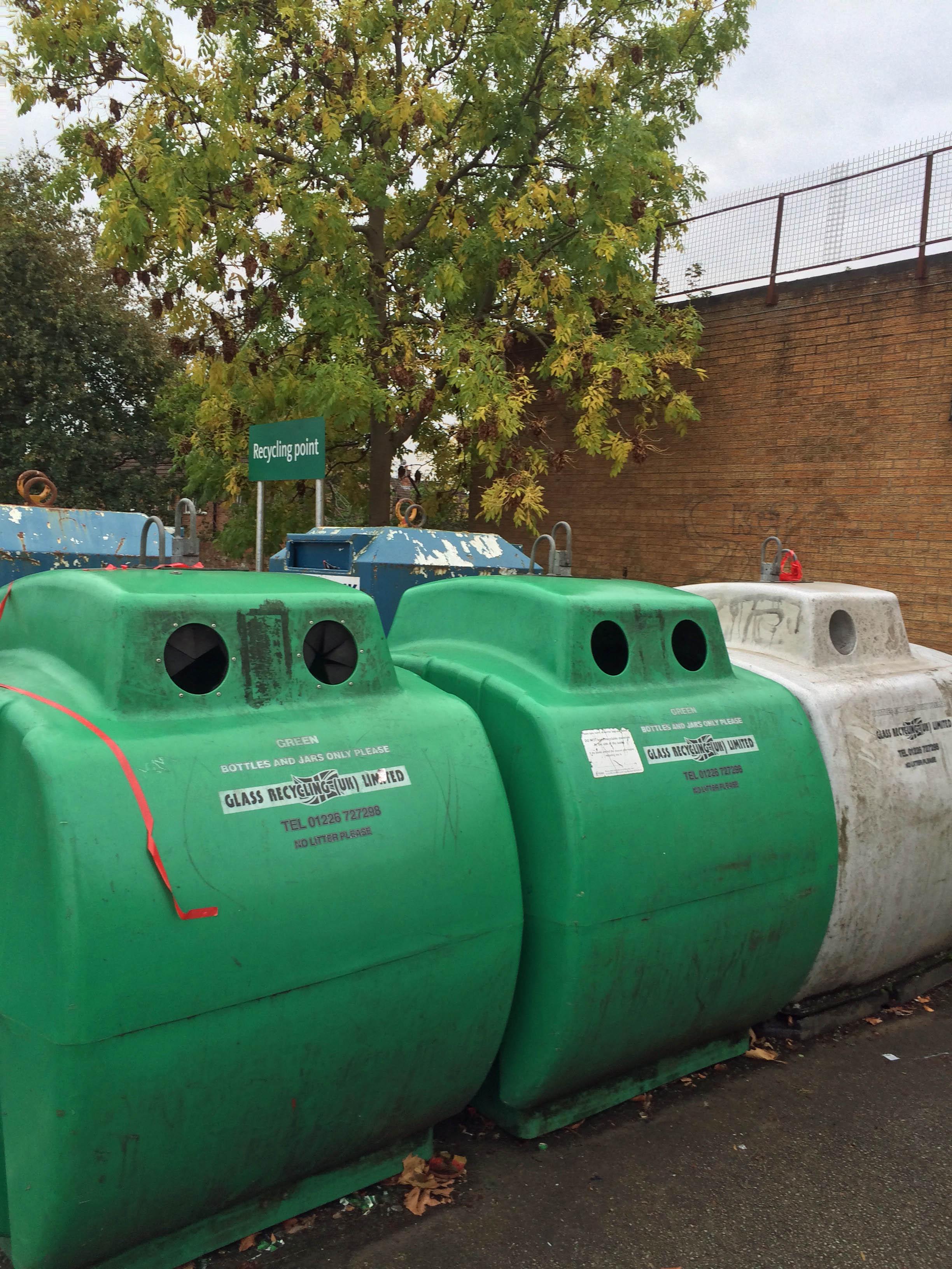 Recycling centre Acomb Car park 1700 17th Oct 2015
