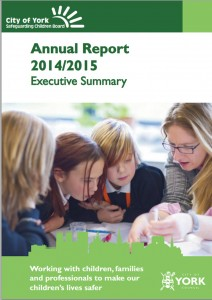 Safeguarding children annual report cover 2014 15